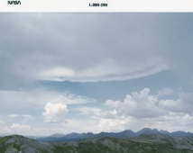 image of Thunderstorm over the Rocky Mountains