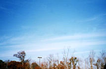 image of distant cirrostratus clouds