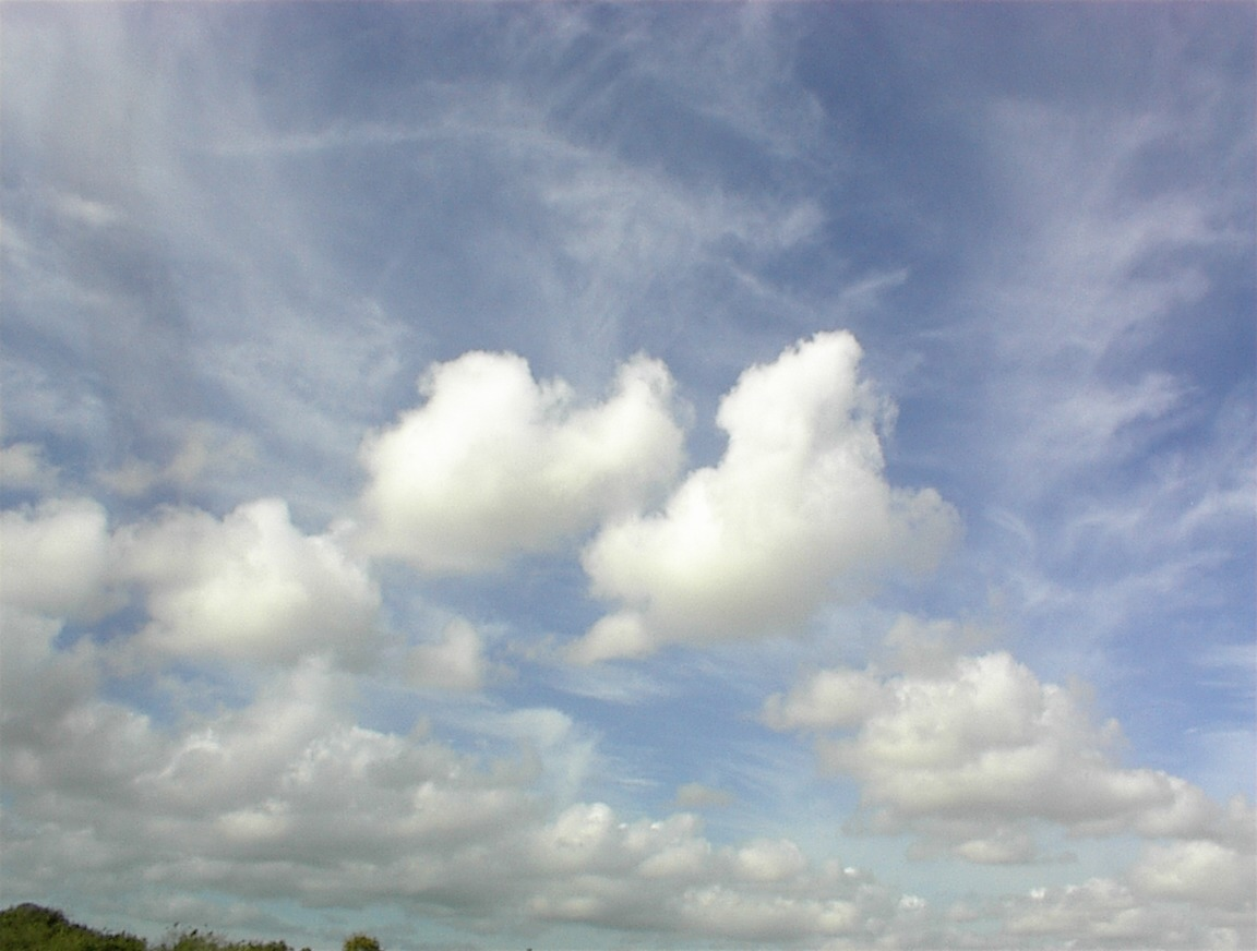 s'cool - cumulus clouds